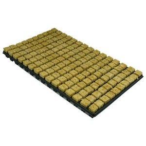 Rockwool cubes in tray 28mm, 150.