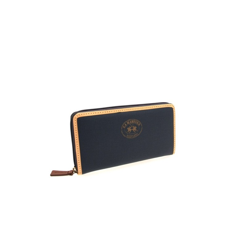 GENUINE LA MARTINA Wallet Nobleza Woman Blue - 060192082, $134