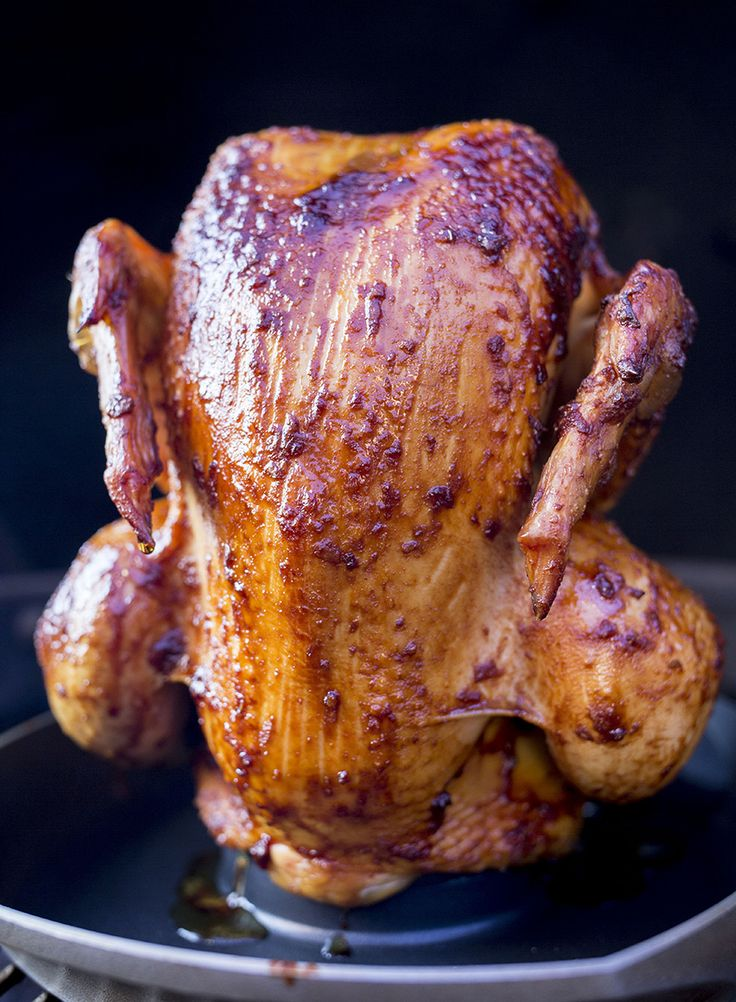 Glaseret kylling / Glaced chicken
