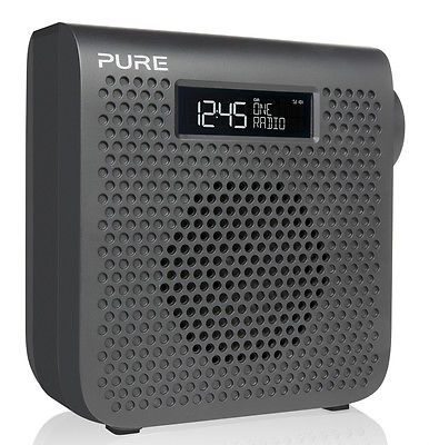 Pure one mini s3 dab fm #digital #portable radio #graphite,  View more on the LINK: 	http://www.zeppy.io/product/gb/2/111939155918/