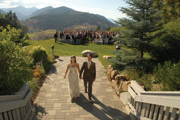 Sun Mountain Lodge | Bridal and Wedding Planning Resource for ...