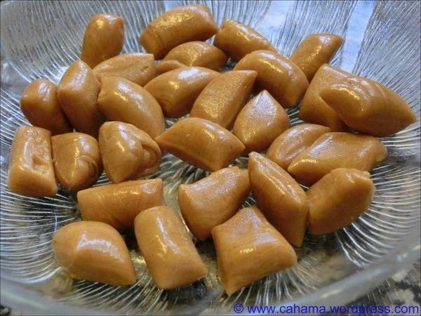 gezogene Honig Bonbons