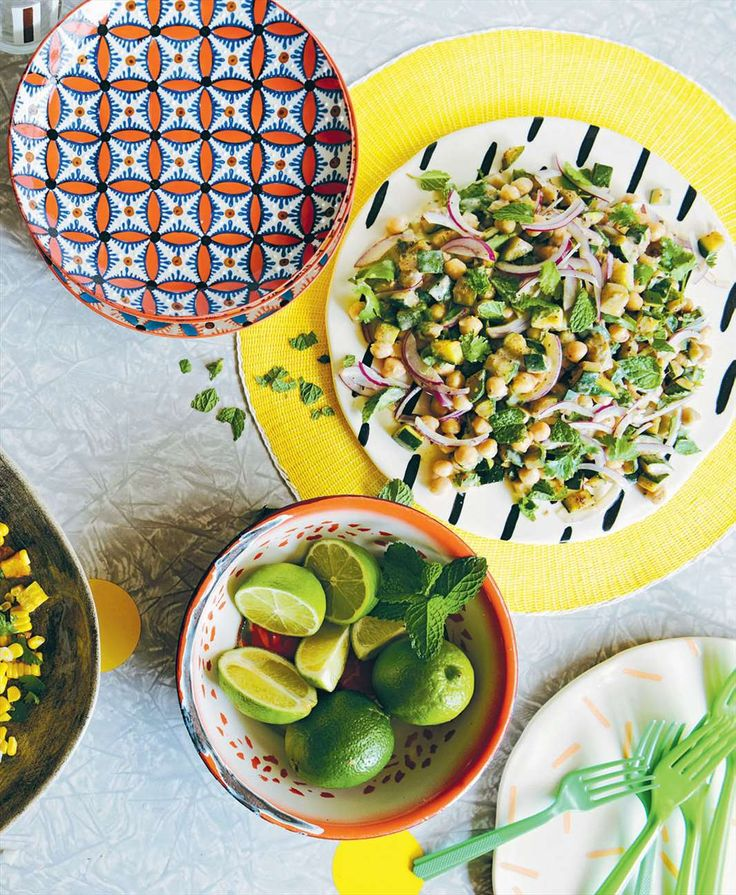 Zucchini and chickpea salad by Raph Rashid from Hungry For That | Cooked