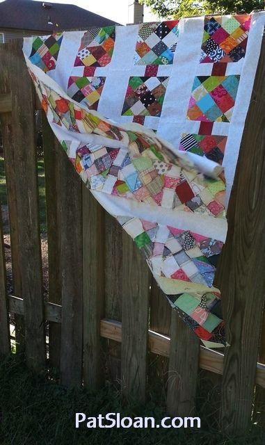 nice scrap quilt