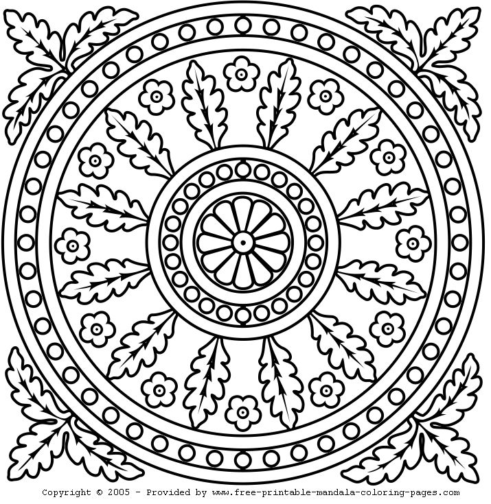 73 Best Mandala Coloring Images On Pinterest