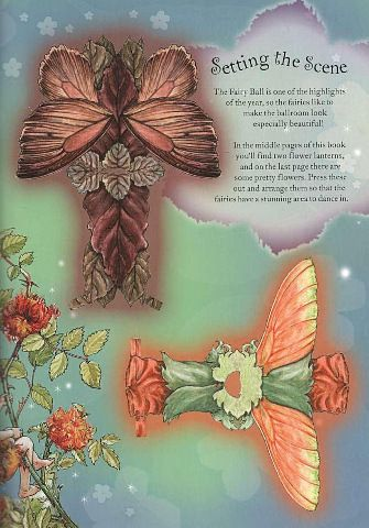 FLOWER FAIRIES Paper Dolls and Flower Fairies Friends from Penguin Group published 2005. Front and Back Designs for Dolls and Dresses 13