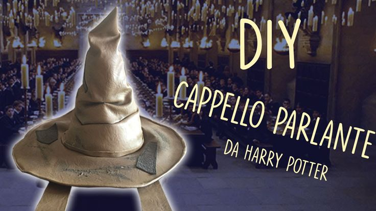 DIY - Il Cappello Parlante da Harry Potter
