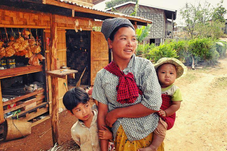 In Kalaw, Myanmar