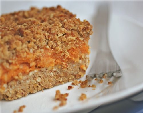 Apple Pumpkin Crumble Bars are great for dessert--but healthy enough ...
