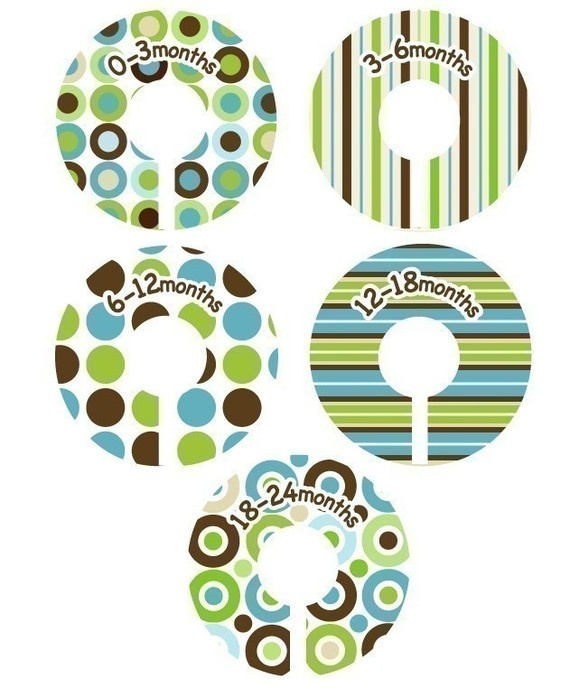 Baby Closet Dividers Organizer Clothing Dividers By Potatopatch 13 50 Future Kids Room Ideas