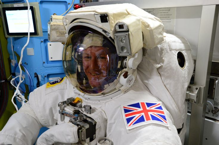 "Tim Peake Prepares For Friday's Spacewalk European Space Agency (ESA) astronaut Tim Peake (@astro_timpeake) shared this photo taken aboard the International Space Station on Jan. 11 2015 during preparations for a spacewalk or extra-vehicular activity (EVA). Peake wrote ""Final suit fit check prior to Friday's EVA  feels just great! #Principia #spacewalk"""