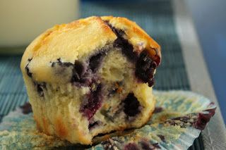 Bluberry Lemon Ricotta Muffin