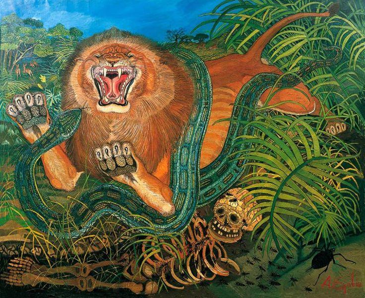 Antonio Ligabue, Il Re della foresta - CoSA | Contemporary Sacred Art