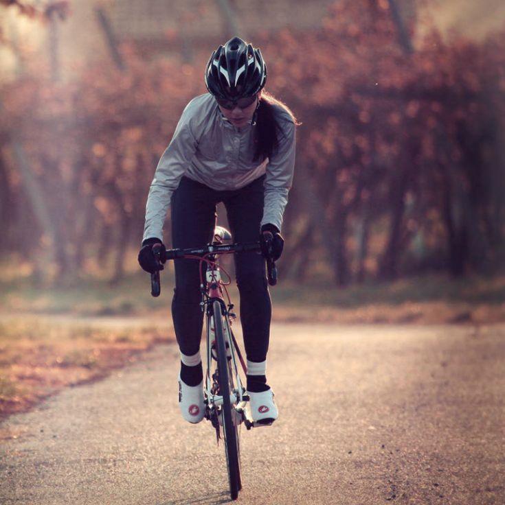 Women's Castelli Winter gear! Super cute!!! #women #cycling