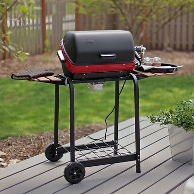 Modern Portable Electric Grill Patio Camping Outdoor Backyard Cooking  Barbecue
