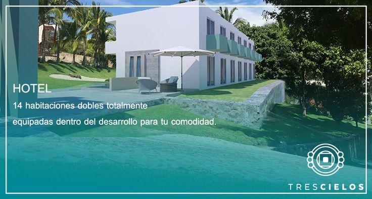 """Hotel """"Destino"""" para tu boda.""""Tres Cielos"""" Tequesquitengo, México. Jardín de Eventos."""
