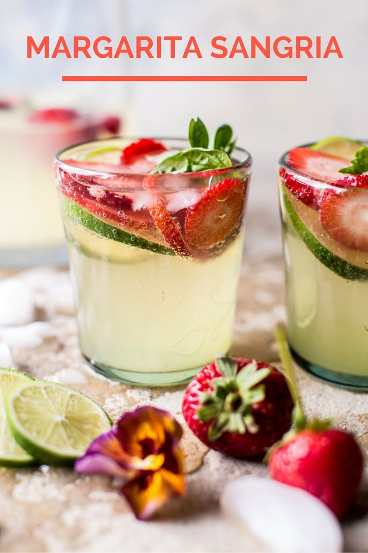 What could be a better combination than Margarita Sangria?   theinspiredhome.com @ihainspiredhome