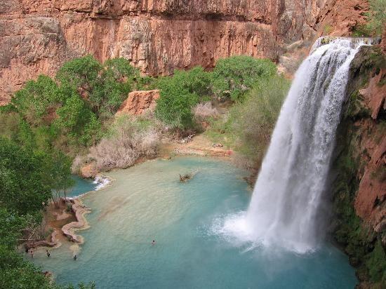 Havasu Falls  (Supai, Arizona, USA)