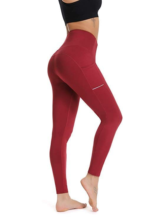 071b630f3909c1 Workout leggings with phone pockets are my new favorite! Tummy Control High  Waisted Leggings with Pockets, Athletic Pants, Yoga Pants, Workout Leggings,  ...