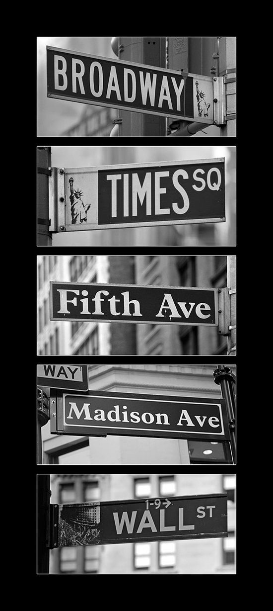 nyc - Aaah all the places I want to go<3 After all,Madison Sq. was named after me. (;: Buckets Lists, New York Cities, Big Apples, New York Signs, Street Signs, Places, Newyork, New York Street, Nyc Street
