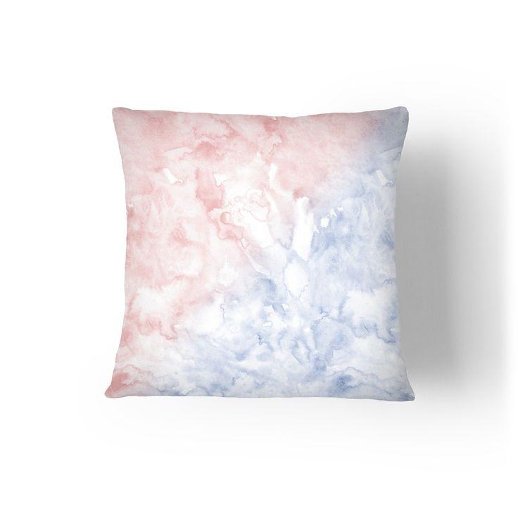 Serenity & Rose Quartz Pillow