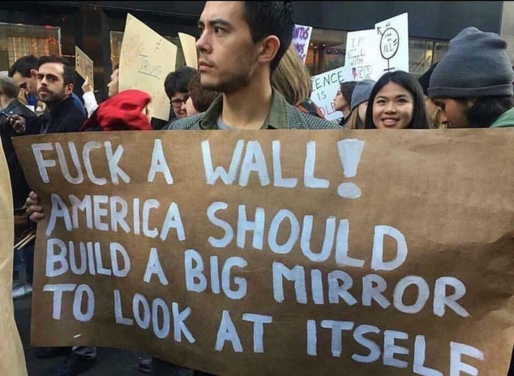 Love this sign....I'm so Ashamed of what's happening in this country right now.