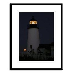 Pemaquid Point Light Large Framed Print