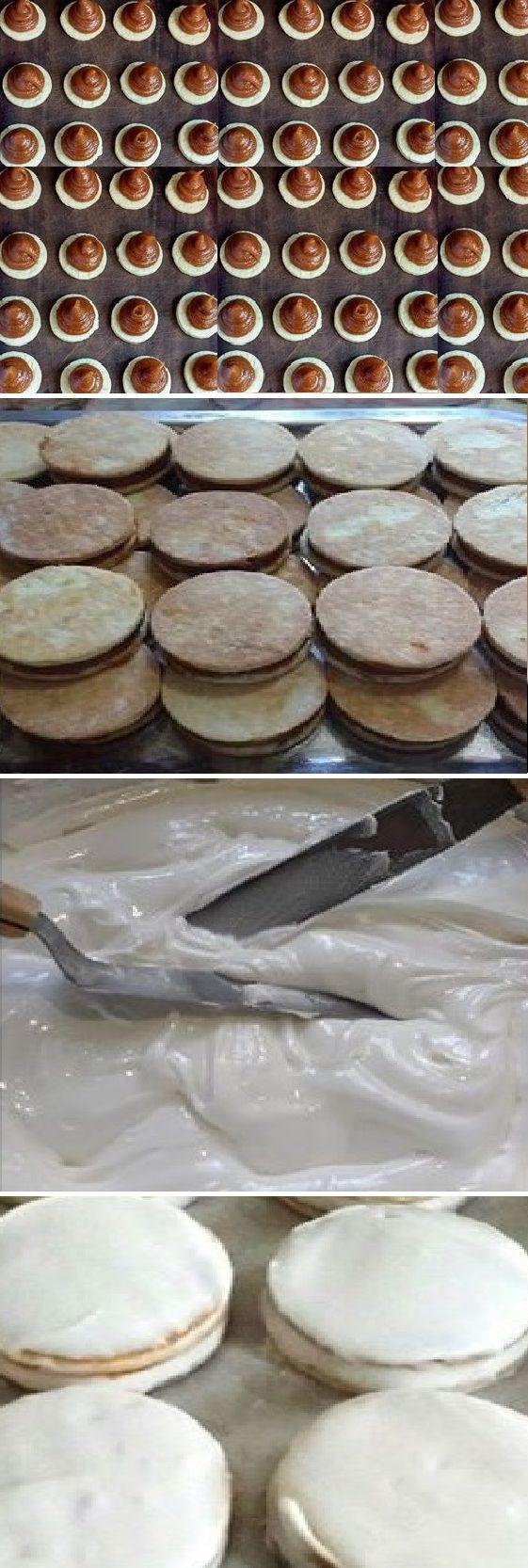 ASÍ QUEDA UN ALFAJOR TIPO HAVANA DE FRUTA, recuerden que es artesanal, y a mi gusto debe quedar así rústico y el sabor para chuparse los dedos… #alfajor #havana #frutas  #receta #recipe #casero #torta #tartas #pastel #nestlecocina #bizcocho #bizcochuelo #tasty #cocina #chocolate #queso Si te gusta dinos HOLA y dale a Me Gusta MIREN …