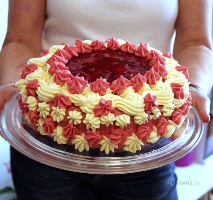 Malinová torta • recept • bonvivani.sk