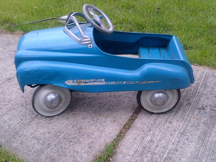 vintage 1950s murray champion pedal car dip side great car pedal cars pinterest more car dip and pedal car ideas