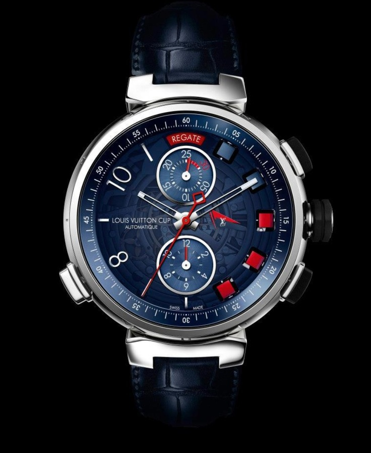 Louis Vuitton Tambour Regatta Navy