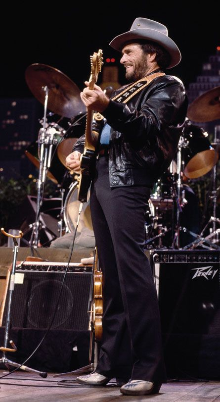 """Merle Haggard -- A country and western legend. What's not to like? His music is amazing! Keep singing """"Hag"""".... #twangers #livinglegends http://www.pinterest.com/TheHitman14/musician-twang-n-bang-%2B/"""