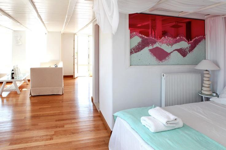 Open plan Castor Villa in Mykonos