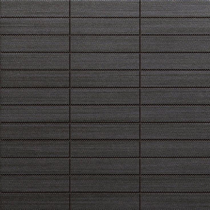 #Dado #Mosaik #Tessuti Black 30x30 cm 301729 | Feinsteinzeug | im Angebot auf #bad39.de 88 Euro/qm | #Mosaik #Bad #Küche
