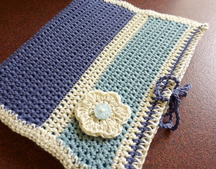 Crochet Lace Book Cover : Crochet book cover pattern free bible
