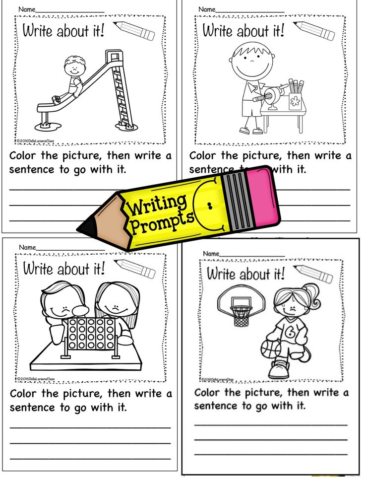 visual writing prompts for kids Get your english students fascinated with writing through this engaging pack of visual writing prompts absolutely no prep required, just download and start teaching in minutes 2018 update: just added over 200 digital.