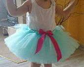 Aqua tutu - baby girl tutu – girl tutu – tutu – birthday tutu – party tutu – tutu skirt – fluffy tutu– teen tutu