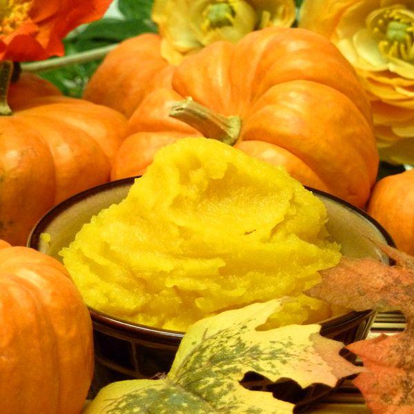 Baked Pumpkin Puree Recipe: instead of canned pumpkin