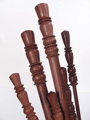 Lovely Surina Wood Knitting Needles take any project to the next level.