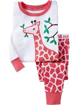 $12.50 from Old Navy. Printed PJ Sets for Baby | Old Navy. 6-12 month