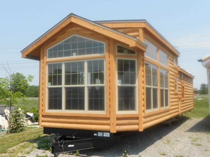 2012 breckenridge log cabin model park model trailers for Home models and prices