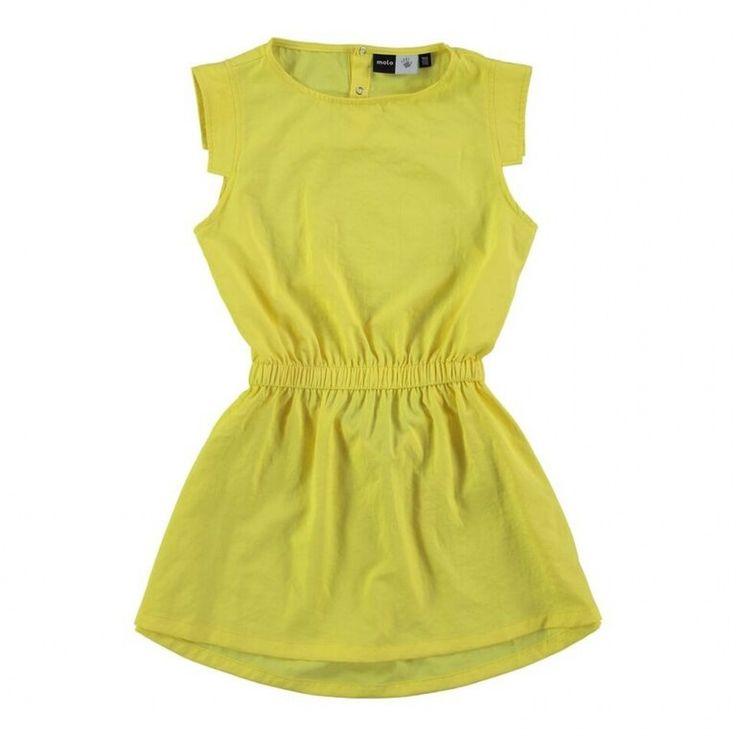 Molo jurk-meisje-geel {BRAND} | {NAME} € 54,95