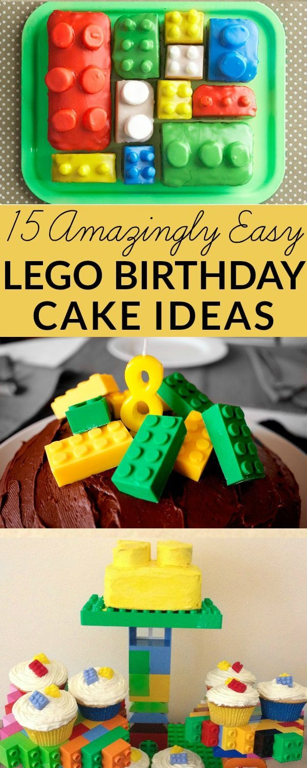 Looking For LEGO Cake Ideas Or How To Make A Here Are Some Amazing Birthday With Tutorials And Instructions