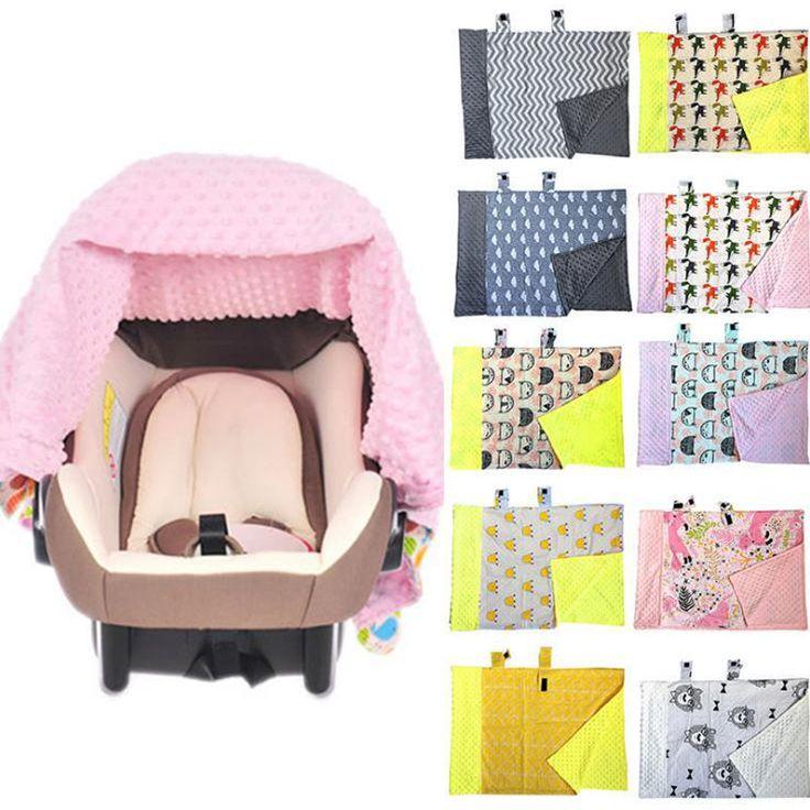 Nuovo 1 Pz Neonato Infantile del Nursing Coperta Seggiolino Auto Baldacchino Passeggino Che Copre