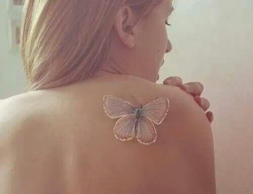 Farfalla per tatuaggio