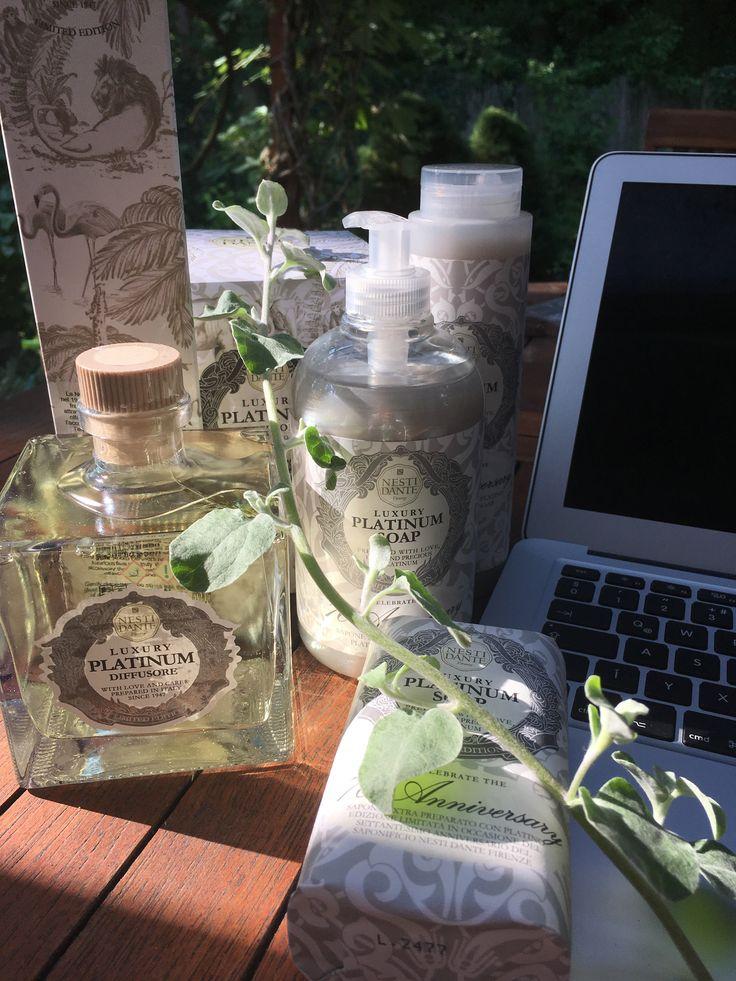 Nesti Dante Platinum kollekció: szappan, folyekony szappan, hab-és tusfurdő, szobaillatosito