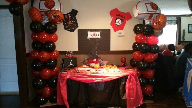 Air Jordan baby shower