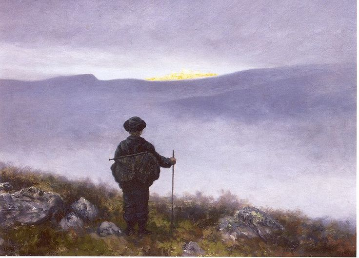 Theodor Severin Kittelsen (27 April 1857 – 21 January 1914) was a Norwegian artist. He is one of the most popular artists in Norway. Kittelsen became famous for his nature paintings, as well as for his illustrations of fairy tales and legends, especially of trolls.[1]