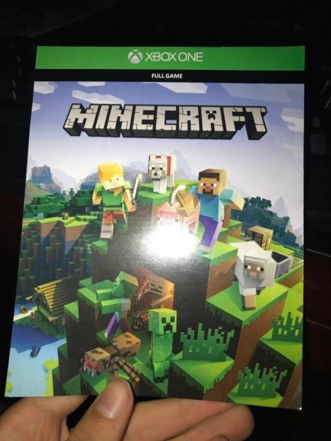 minecraft xbox 1 edition code