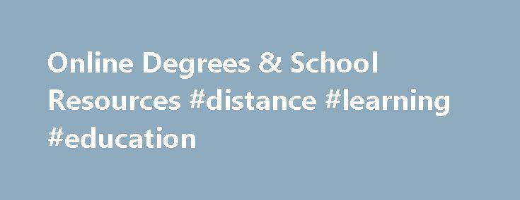 Online Degrees & School Resources #distance #learning #education http://education.remmont.com/online-degrees-school-resources-distance-learning-education-3/  #distance learning education # Online degrees, distance learning, and continuing education program information Education Center Online offers career education resources ranging from high-quality articles about getting the career you want to a vast directory of online and on-campus career education programs. Career education. Feed your…